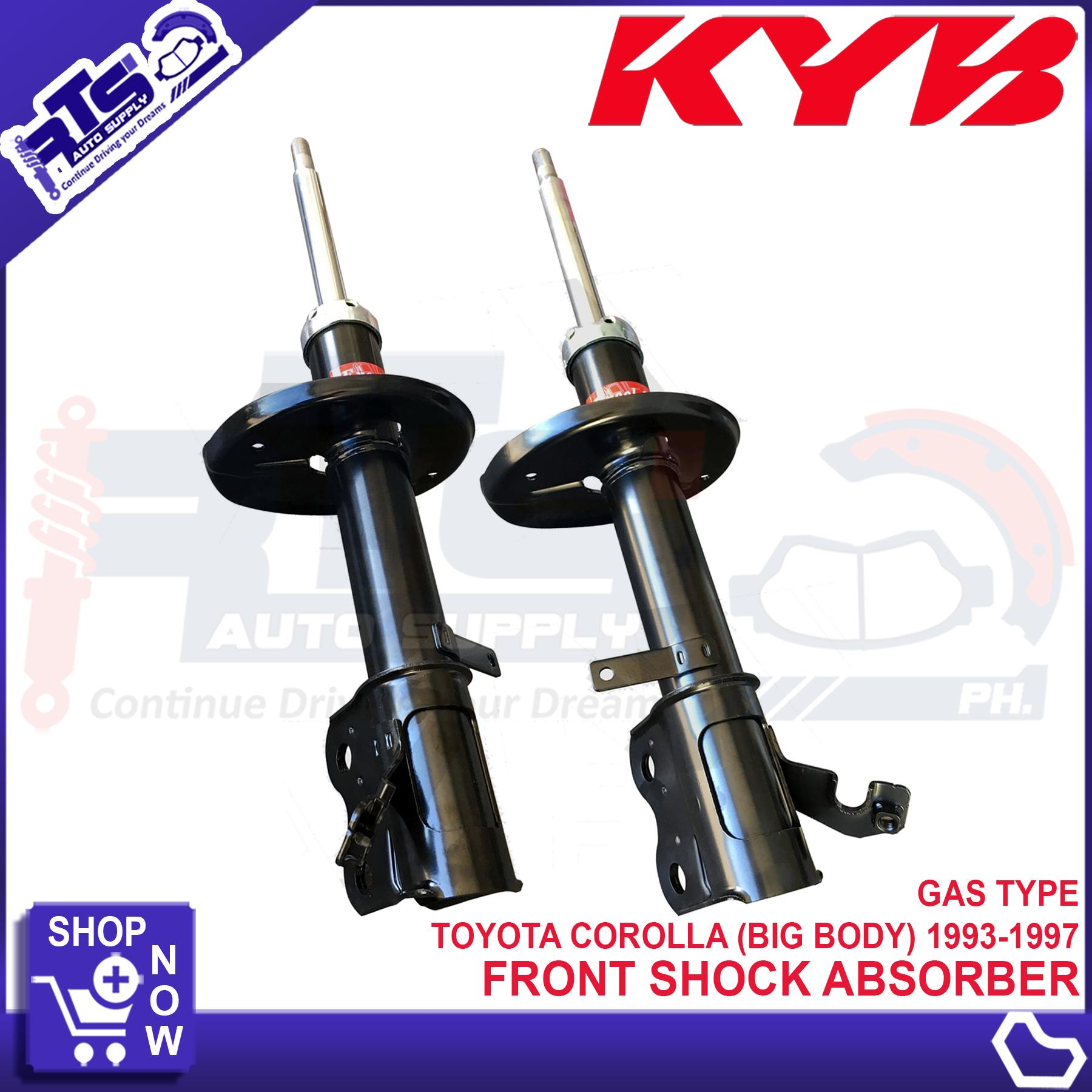 2 PCS KYB FRONT Shock Absorber for Toyota Corolla ( BIG BODY ) 1993 - 1997  Gas type ( KYB 333115 333114 )