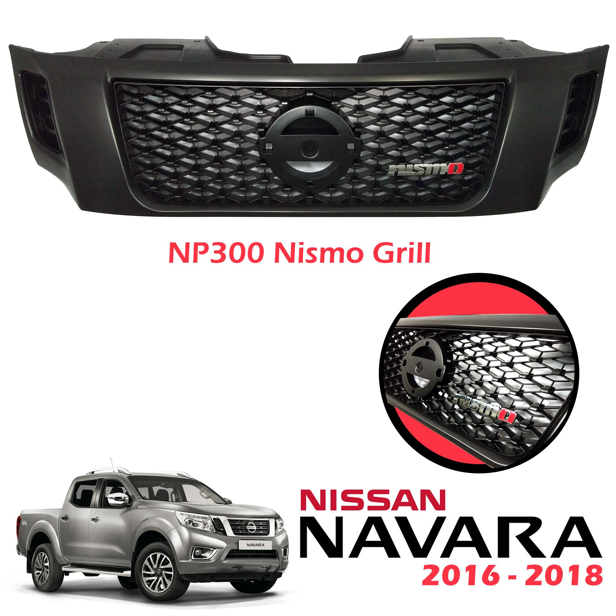 Nissan Navara NP300 2016-2018 Nismo Front Grill with Nismo Grill Emblem