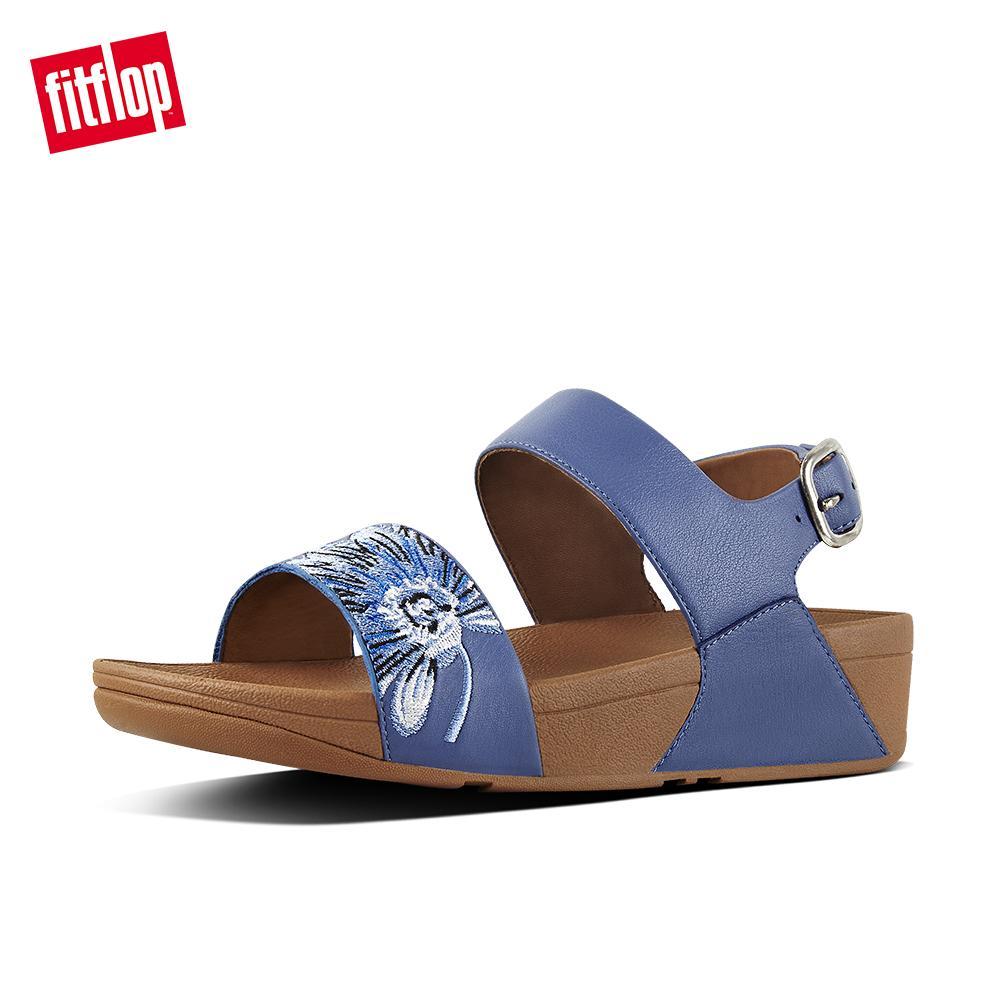 714673e53908e Fitflop Womens Sandals J88 Daisy-Stitch Backstrap Sandals Comfort Stylish  Sandals