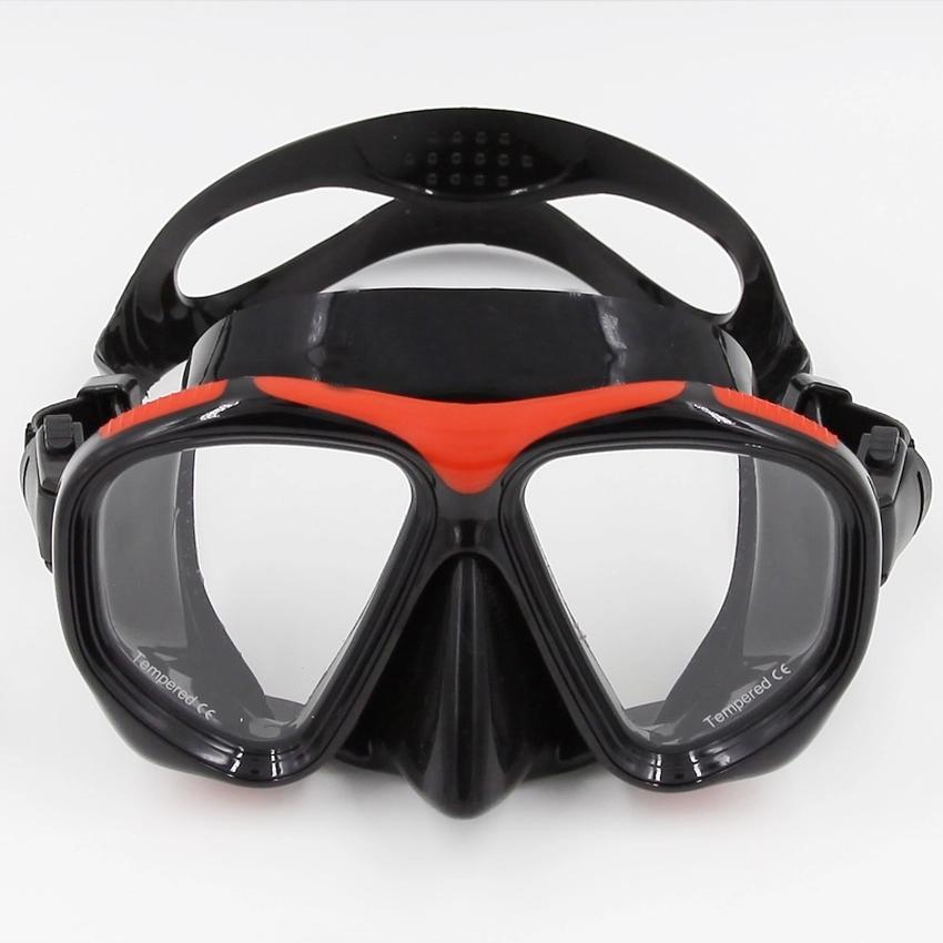 05b64e1d8ff5 PVC Swimming Scuba Anti-Fog Goggles Mask Dive Diving Glasses w  Dry Snorkel  Set