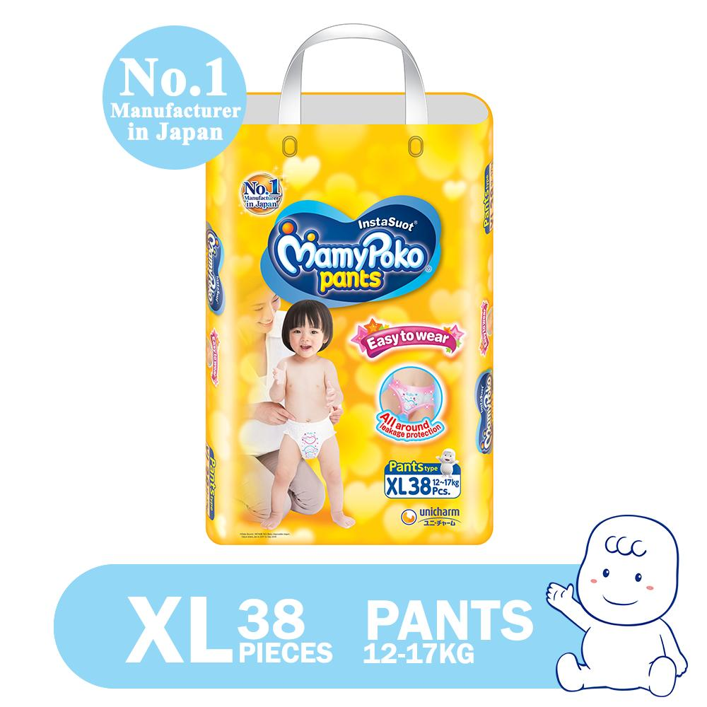 c42f535d729 MamyPoko Easy to Wear XL (12-17 kg) - 38 pcs x 1