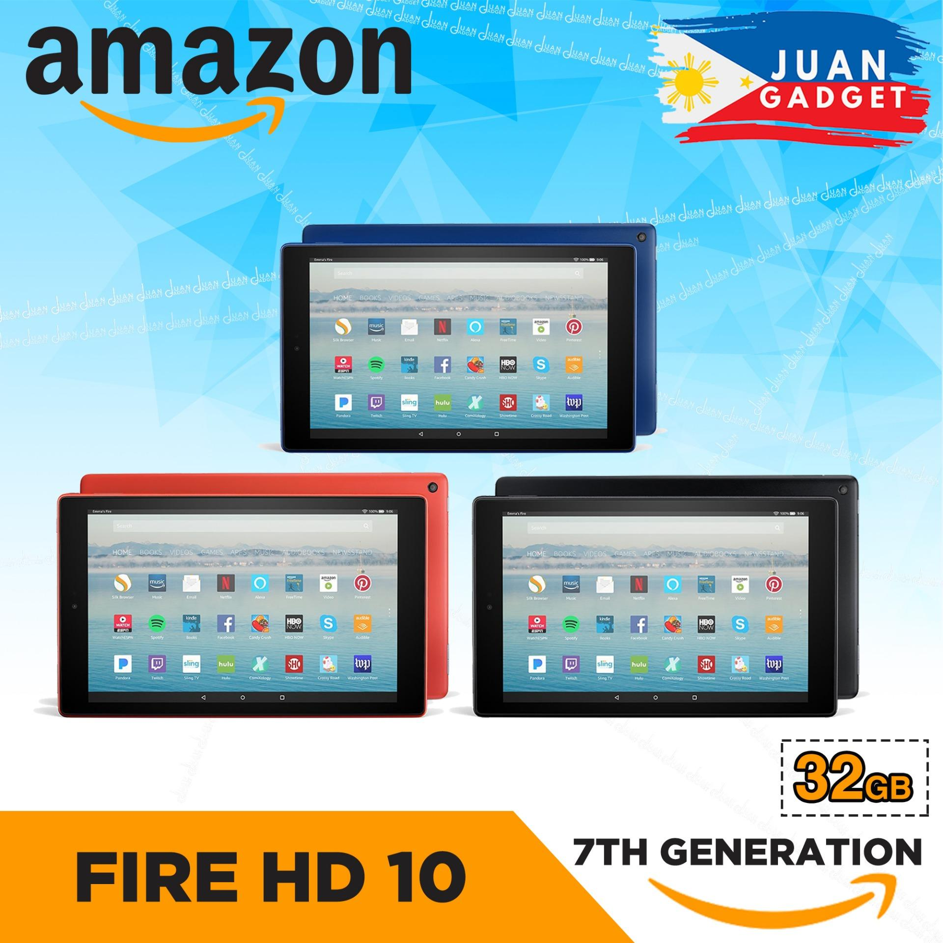 Amazon All-New Fire HD 10 Tablet with Alexa Hands-Free, 10 1