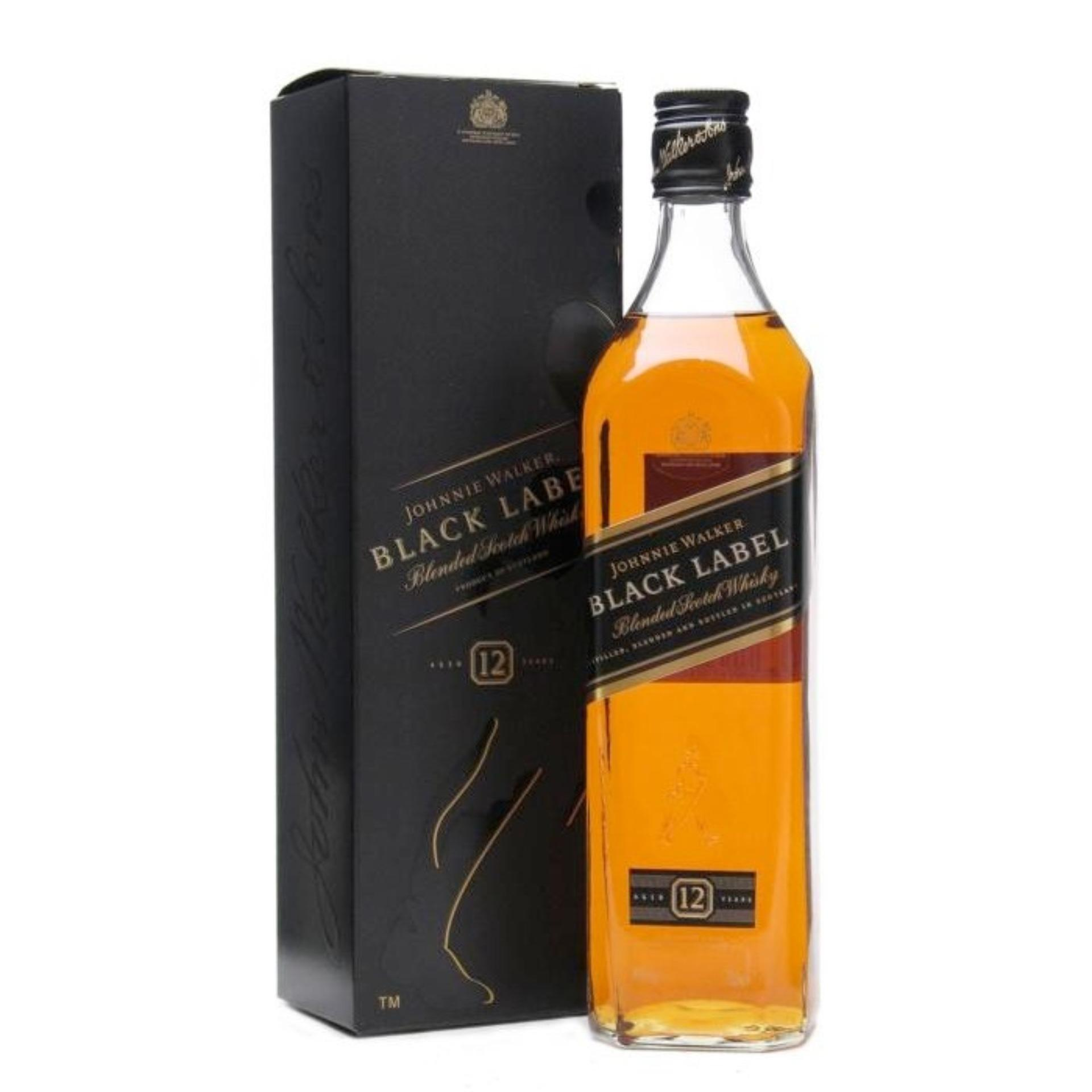 Black Label Price >> Johnnie Walker Black Label Scoth Whiskey 12 Year Old 700ml Scotland