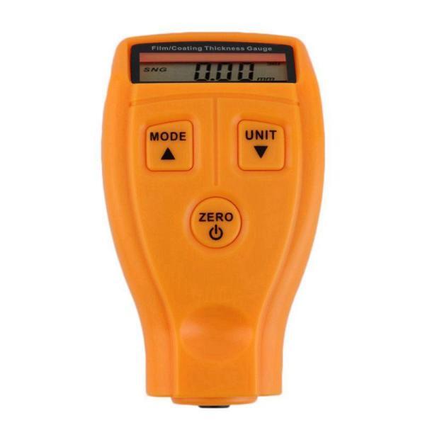 GM200 LCD Digital Car Paint Coating Thickness Probe Tester Gauge Meter Measuring Tool