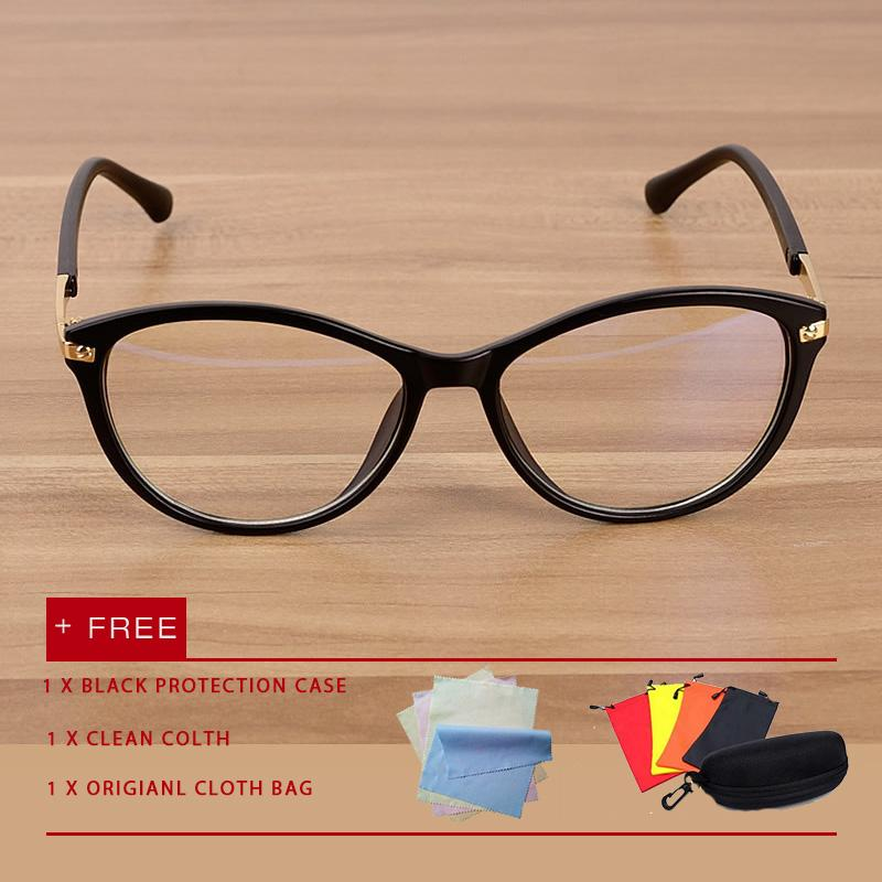 268f9569ee2a Classic men women cat eye eyewear eyeglasses Anti Blue Light Glasses UV  Spectacles flat lens glasses