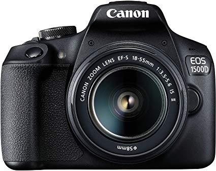 Canon Dslr Eos 1500d With Ef S18 55mm Is Ii Lens Dslr Camera 24mp