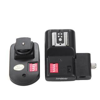 Andoer 16 Channels Radio Wireless Remote Speedlite Flash Trigger with Umbrella Hole Holder thumbnail
