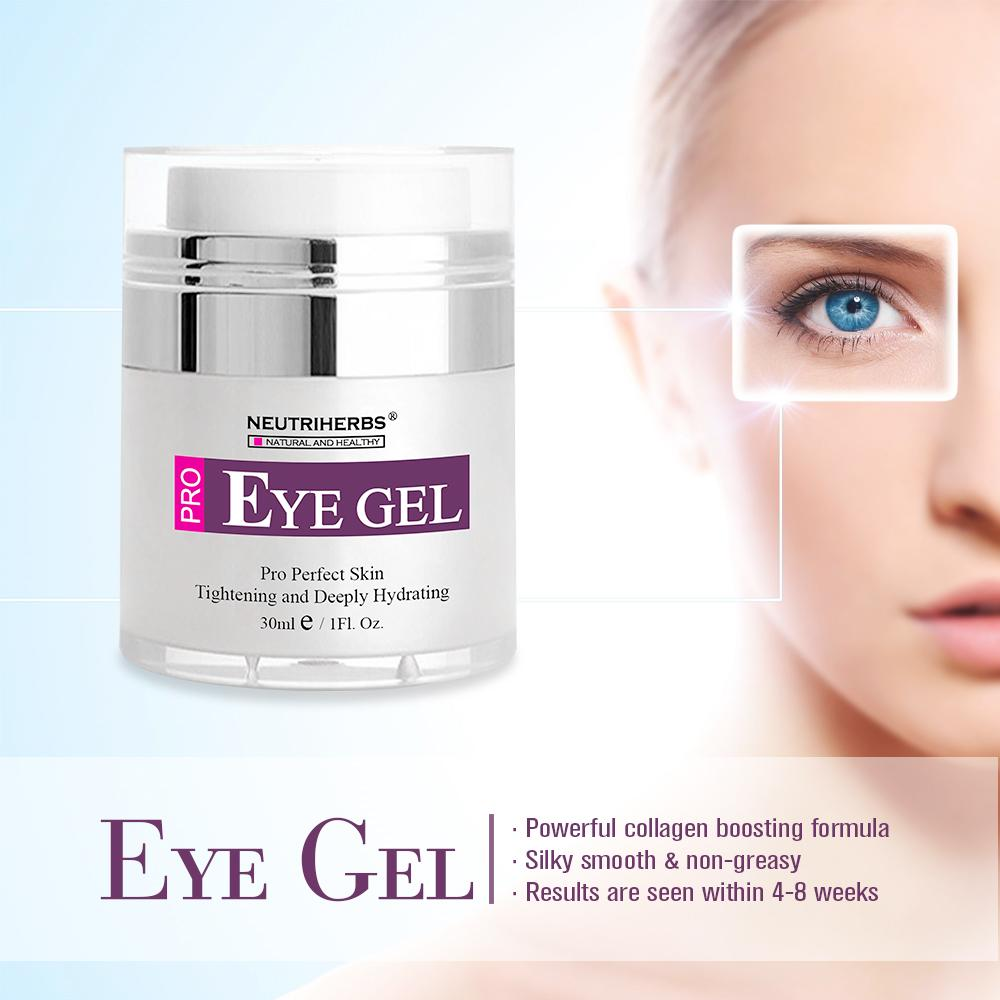Neutriherbs Eye Gel for Wrinkles, Fine Lines, Dark Circles, Puffiness, Eye  Bags with Matrixyl 3000, CoQ10, Collagen, Hyaluronic Acid, Vitamin E