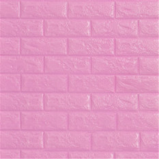 Miếng dán dính tường trang trí họa tiết gạch xốp 3D kích thước 70*15cm (có nhiều màu sắc để lựa chọn) – INTL