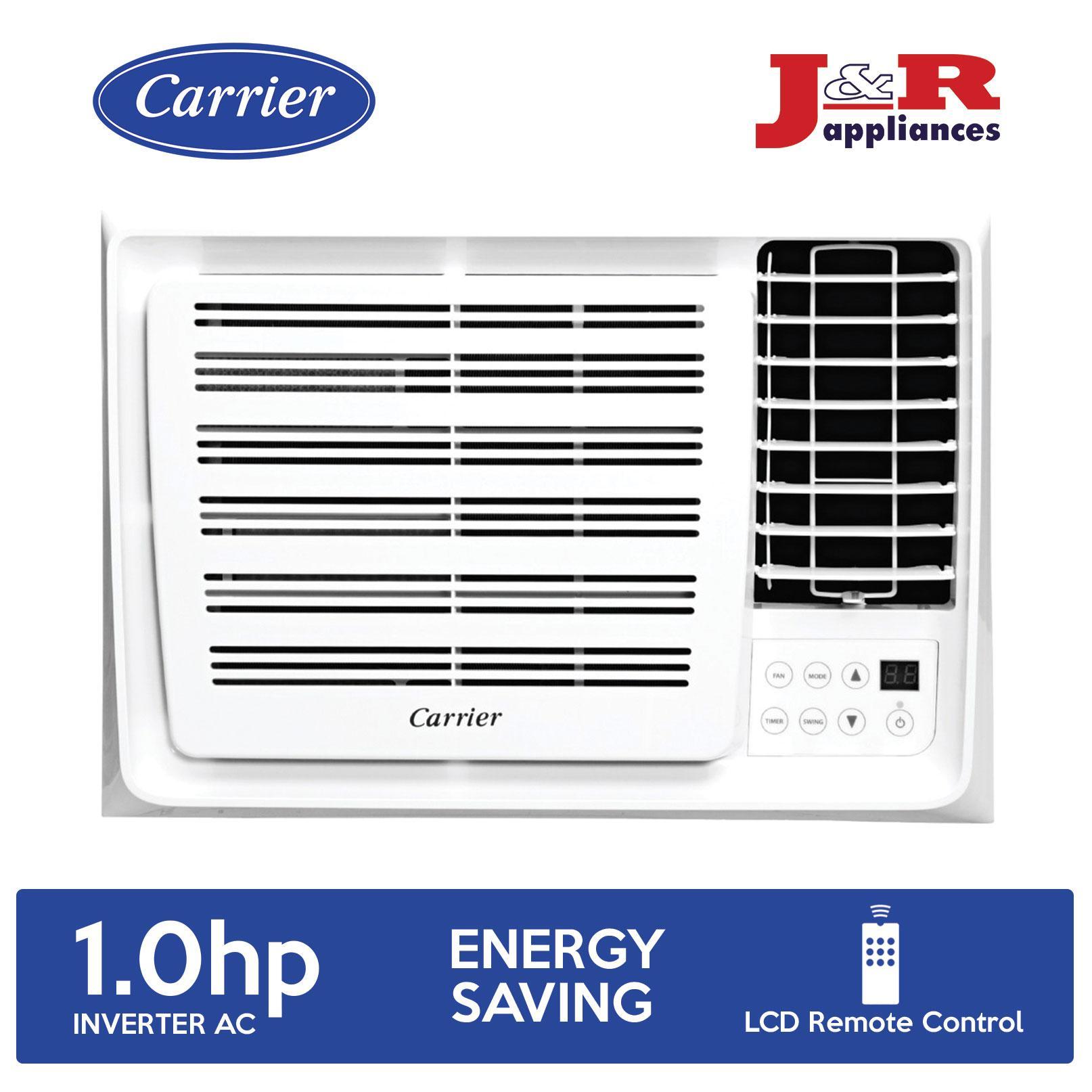 Carrier WCARH009EEV Window Aircon 1 0HP Inverter