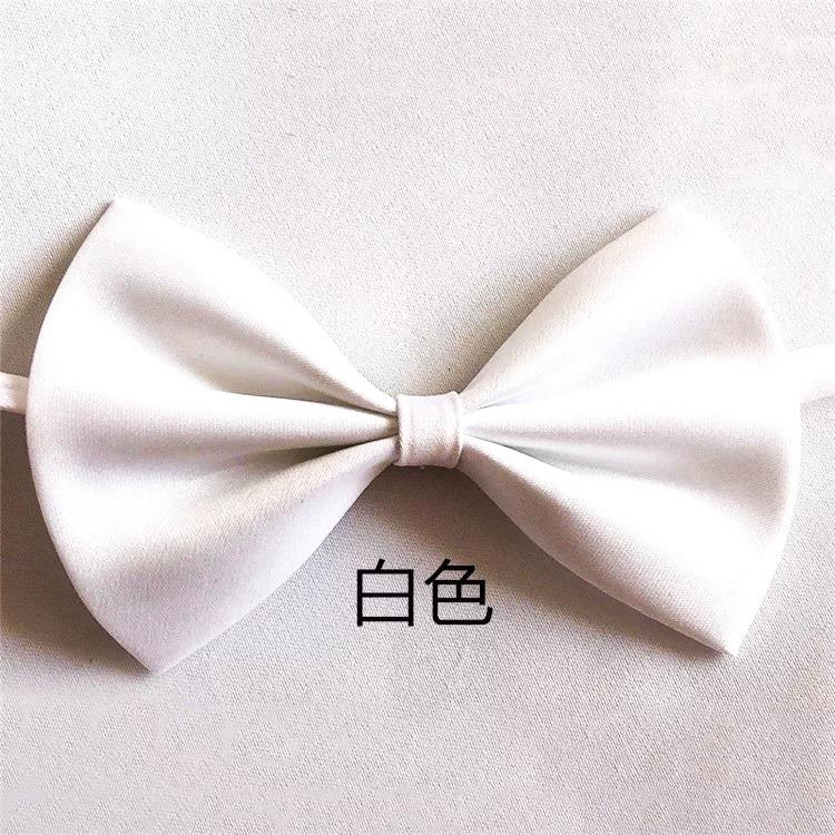 105b31dde958 Men's Bow Tie Men's Groomsmen Grooms Red Black Bow Tie Dresses Wedding  Weddings England Korean Bows