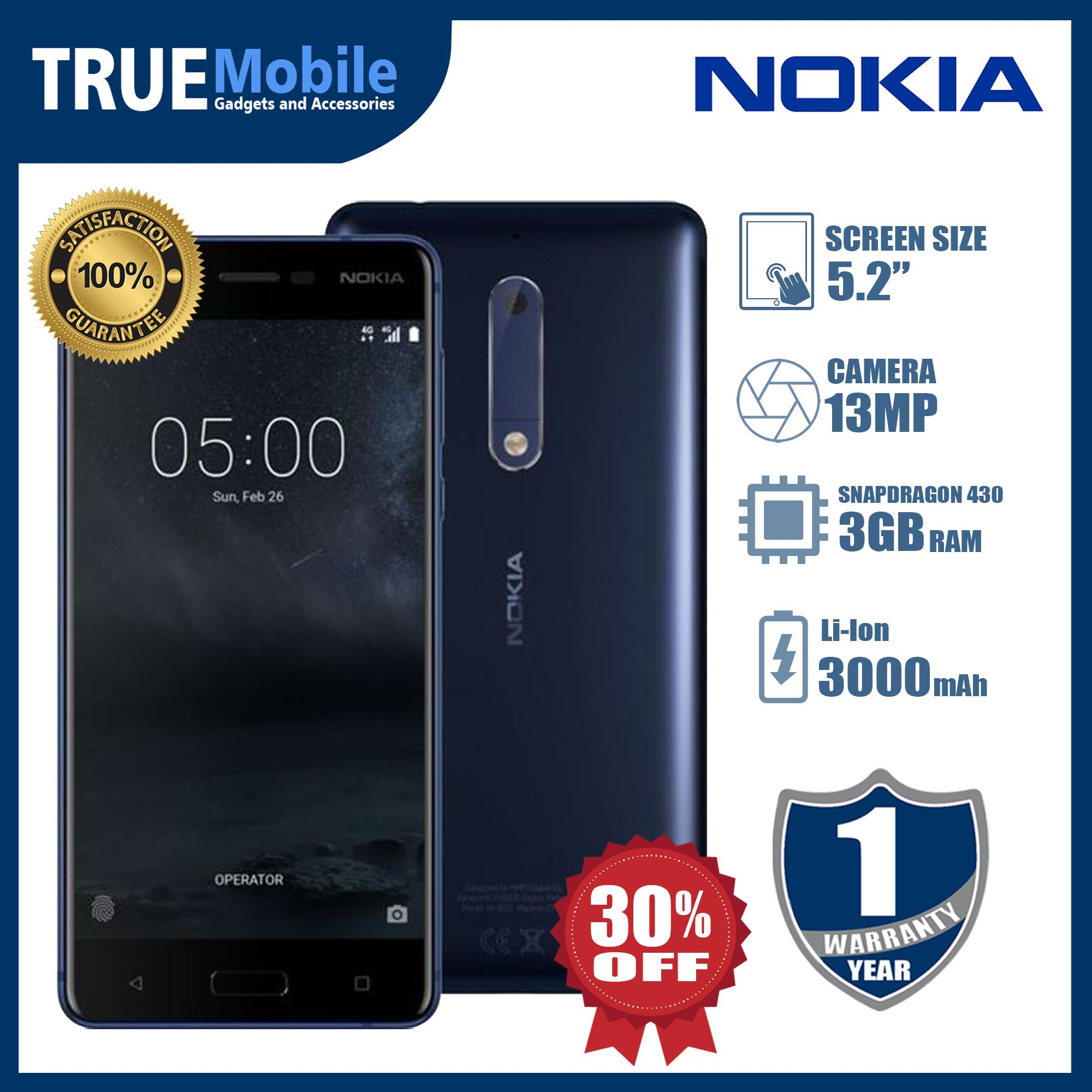 NOKIA 5 ( Android 7 1 1 (Nougat) upgradable to Android 9 0 (Pie)  Non-removable Li-Ion 3000 mAh battery )