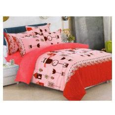 Bedtime Double Size Bedsheet 3 Piece Set