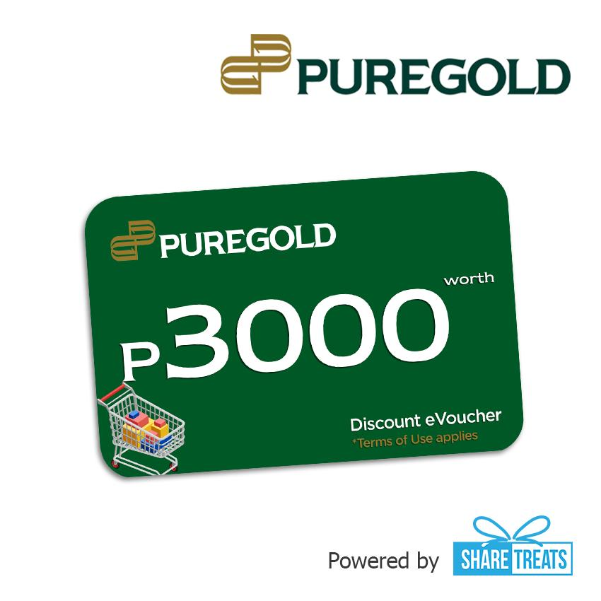 Puregold Php3000 Worth (sms Evoucher) By Share Treats.