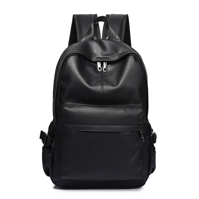 0e56073f711 New Fashion Men Backpack Men's Backpacks for Teenager Luxury Designer PU  Leather Backpacks Male High Quality Travel Backpacks