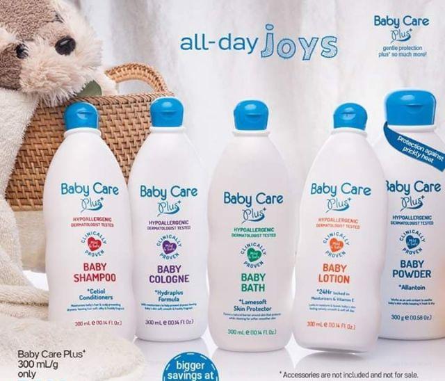 Baby Care Plus + White Baby Bath 300ml By Enhanzo.