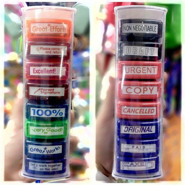 Teachers Stamps (8pcs) By Freedom E-Shoppe.