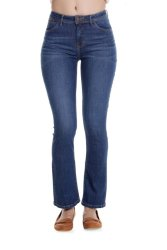 Bobson Women's Regular Waist Pants (Indigo)