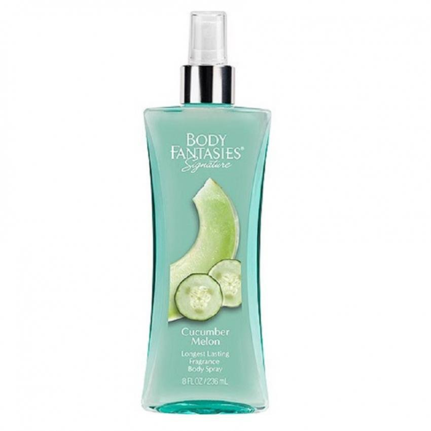 Body Fantasies Signature Cucumber Melon Body Spray for Women 236mL
