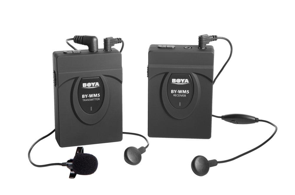 Boya WM5 Wireless Lapel with Lavalier Microphone - thumbnail