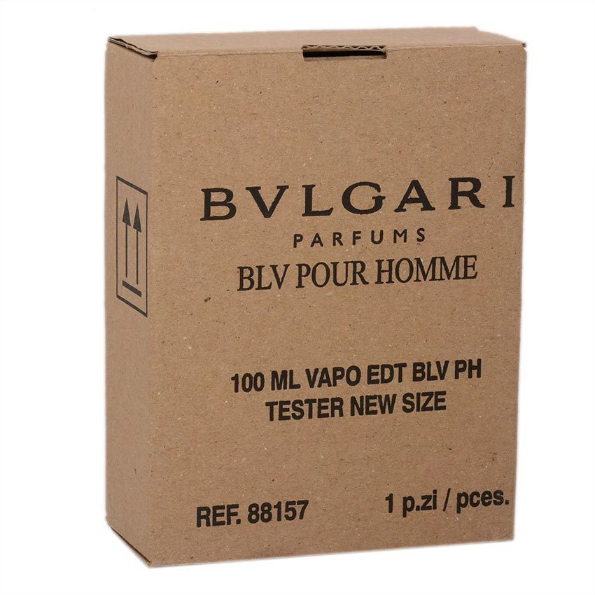 Bvlgari BLV Pour Homme Eau De Toilette for Men 100ml (Tester) - thumbnail