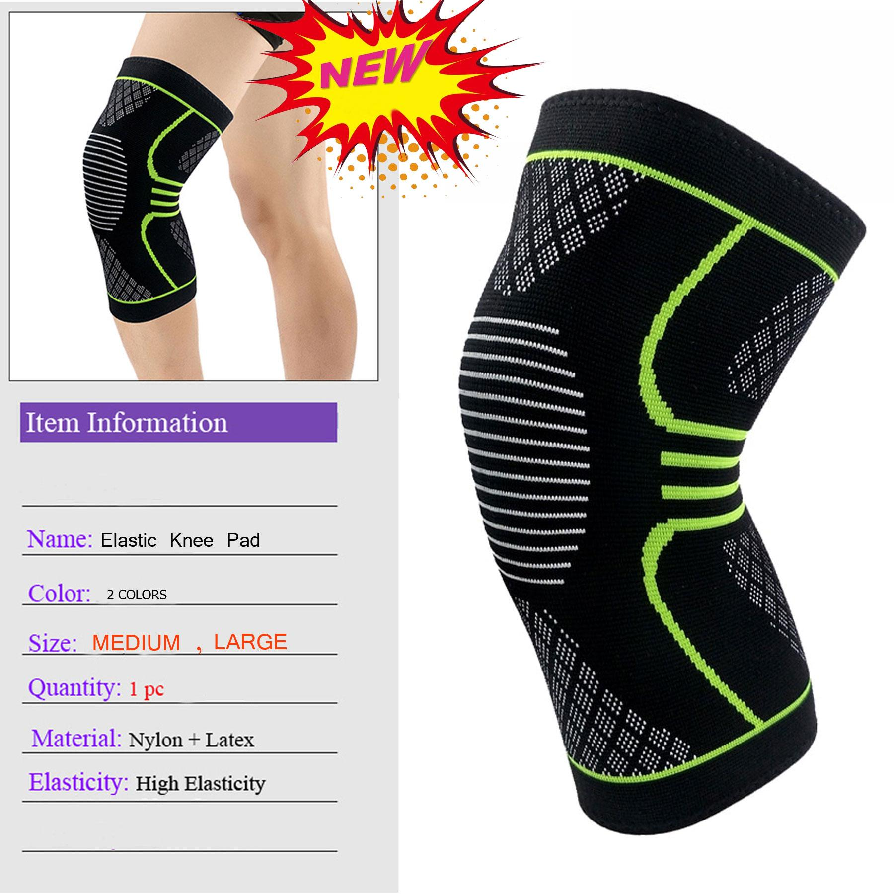 caf8c1e1023657 New 1Pc High Elastic Gym Knee Pad Warm Knee Sleeve Support Protector Sport  Fitness Running Cycling