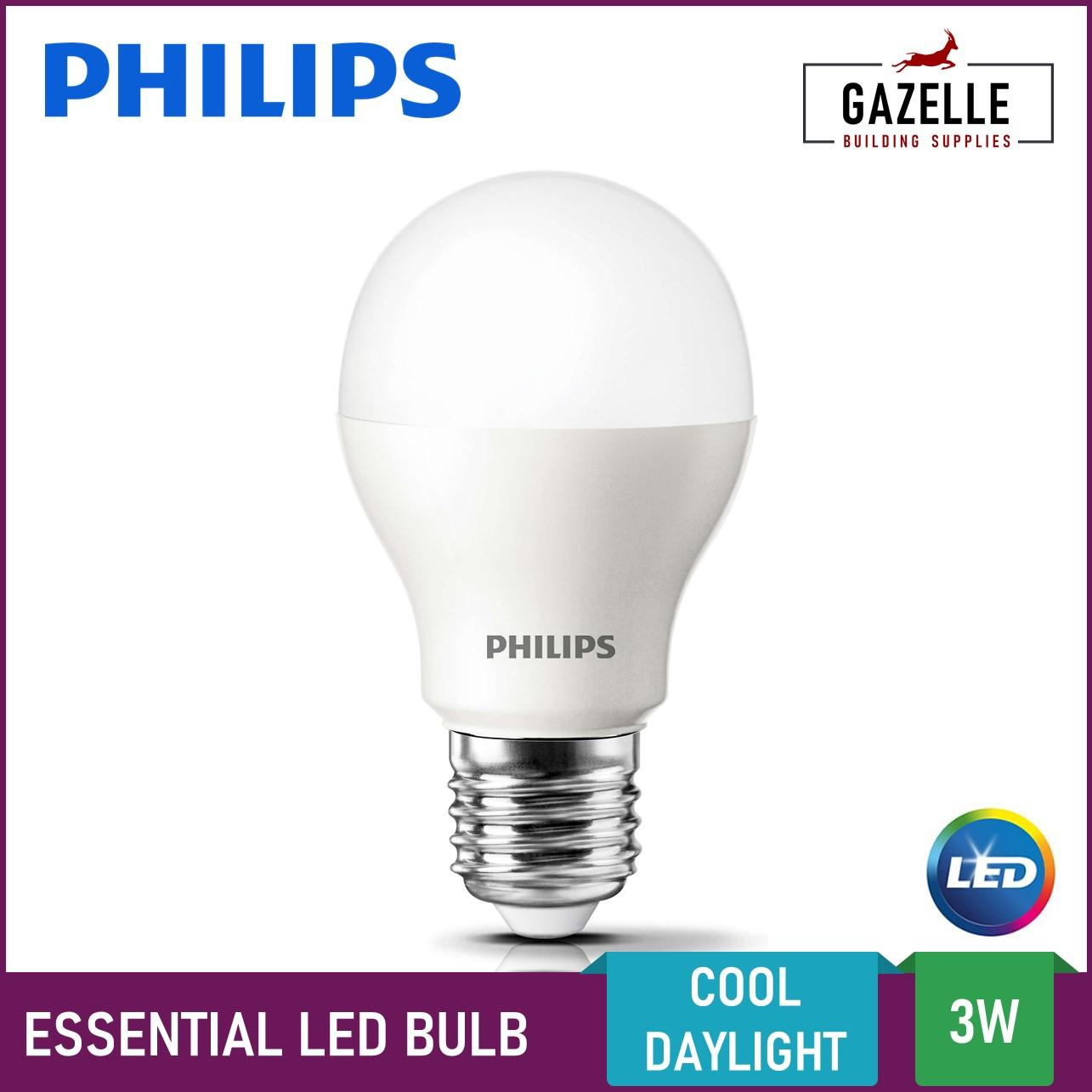 Philips Essential Led Bulb Daylight 3 Watts