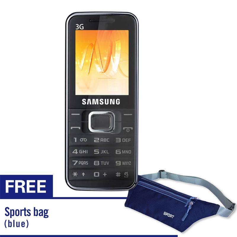 Samsung E3210  Keypad Mobile Phone with Free Sports waterproof pockets