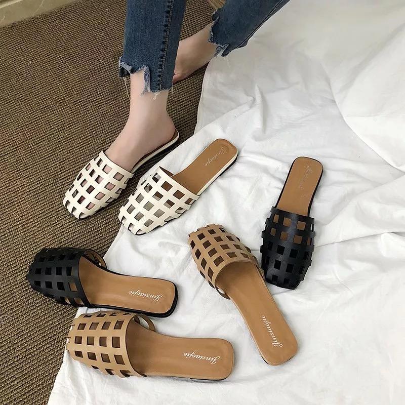 21b8664747237 HOT Korean Fashion Flat Sandal For Women High Quality H-004