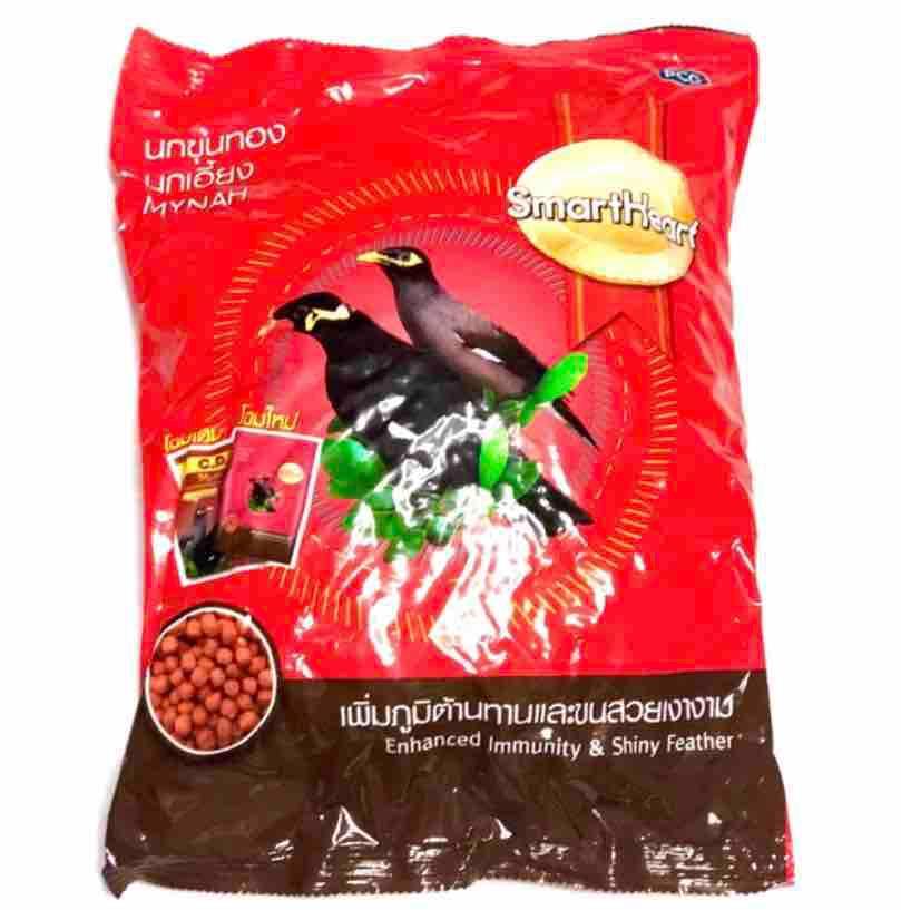 Smartheart Mynah Food 1kg By Treatsnthings.