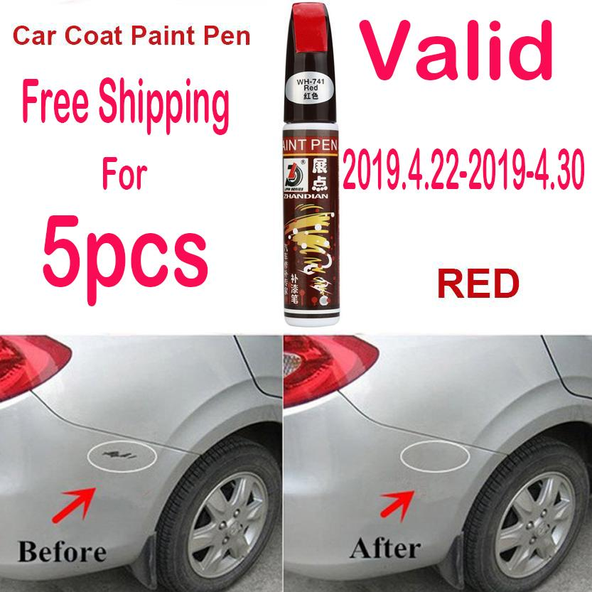 Auto Car Coat Paint Pen Touch Up Scratch Clear Repair Remover Remove Tool Car Scratch Repair Pen (red) By Powerful-Enterprise.