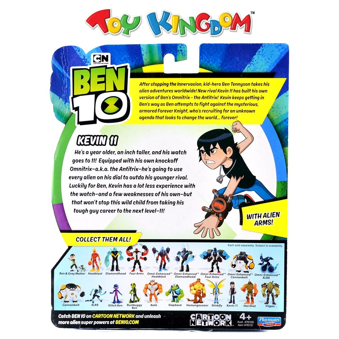 Ben 10 Kevin II with Alien Arms Toys for Boys