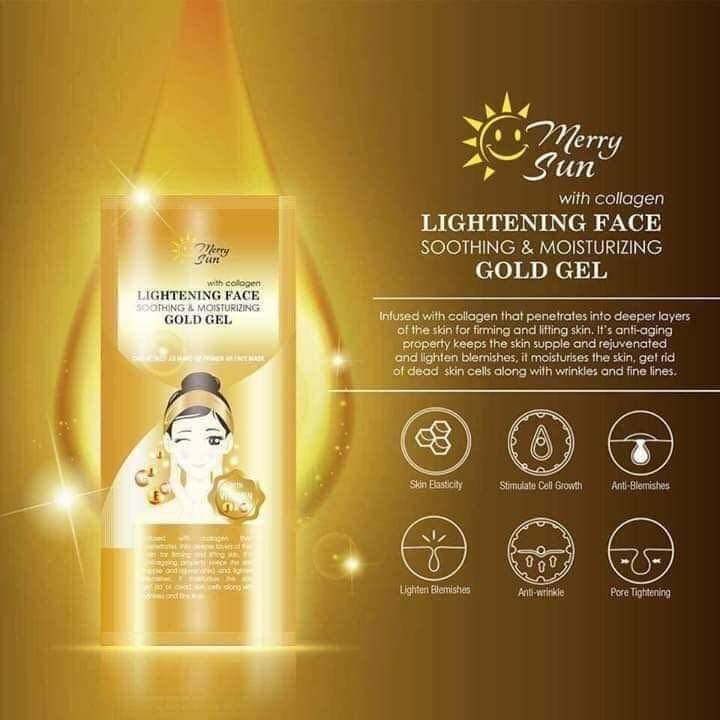 merry sun gold gel 12pcs580 Philippines