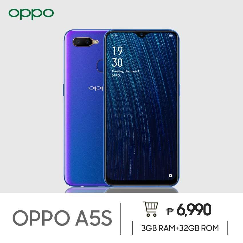 OPPO A5s Smartphone 3GB/32GB 4230mah Battery Dual SIM Dual Rear Camera  13MP+2MP