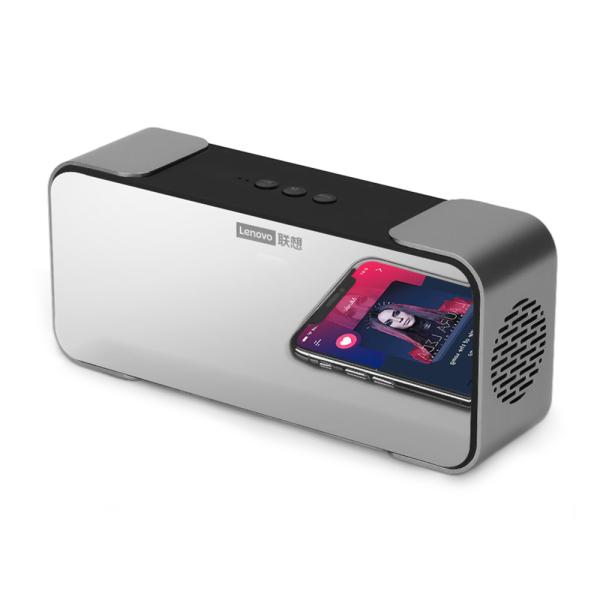 Lenovo L022 (Phiên bản tiêu chuẩn) Loa BT với Loa không dây di động Gương Máy nghe nhạc với âm thanh và âm trầm HD 10W cho gia đình / ngoài trời / du lịch