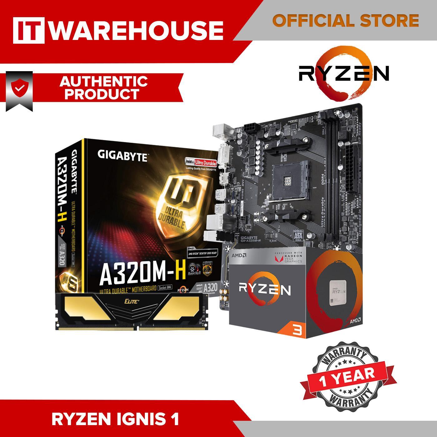 AMD Ryzen 3 2200G RYZ 3 VEGA IGNIS 1 Bundle Package Quad-Core 3 5 GHz  Socket AM4 65W with Radeon Vega 8 Graphics iGPU Desktop Processor DISKLESS  CPU
