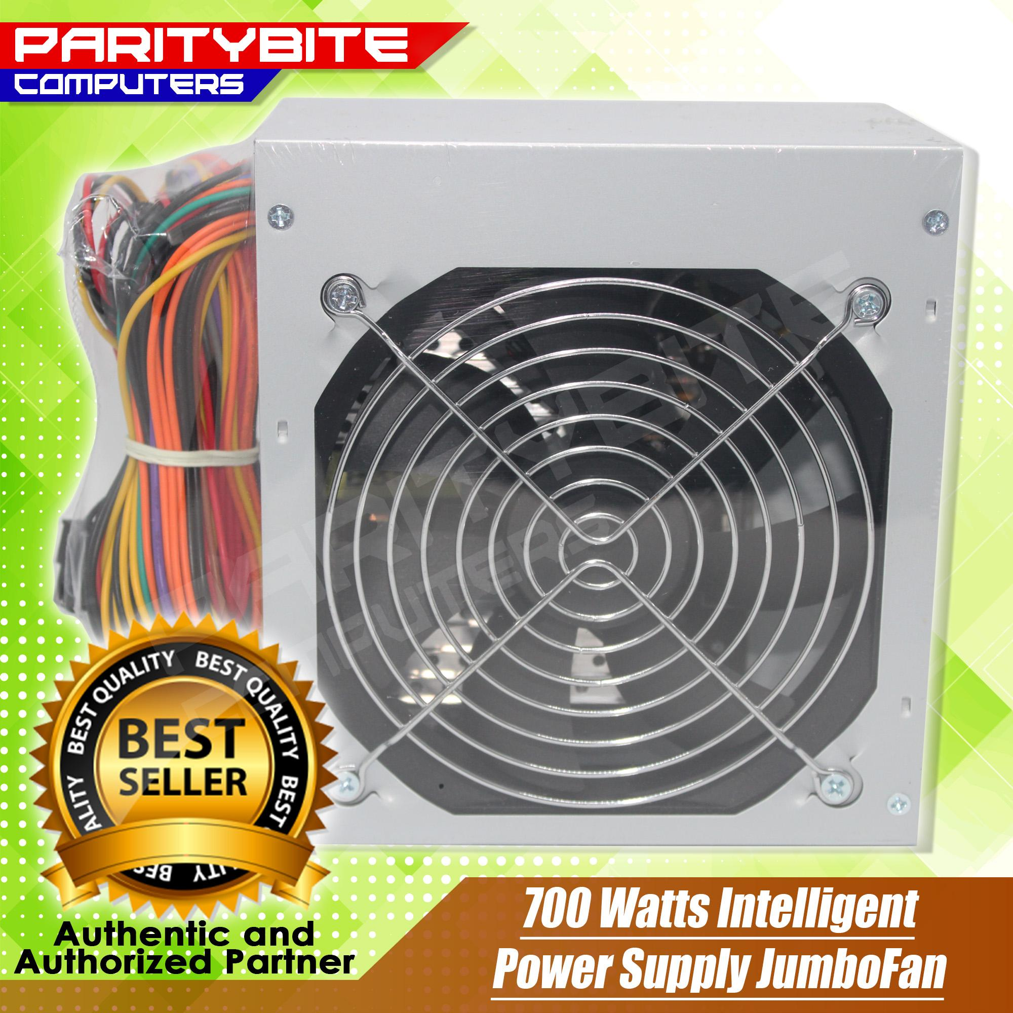 700 Watts Intelligent Power Supply Jumbofan By Paritybite Computers.