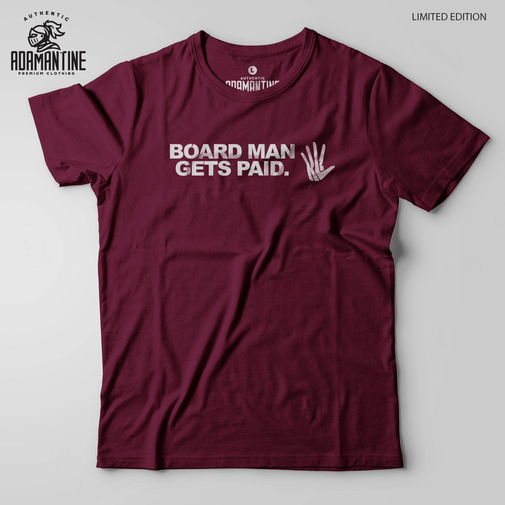 on sale eb380 cca23 Board Man Gets Paid Kawhi Leonard Shirt - Adamantine - BB