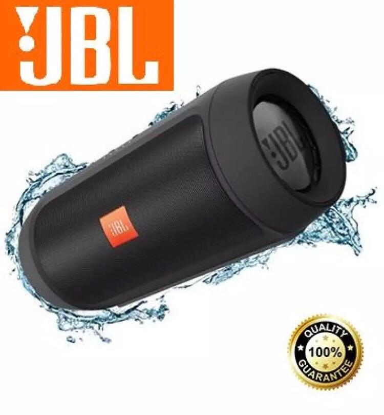 JBL Charge 2+ Big Portable Bluetooth Speaker Wireless Splashproof With  Built-in Powerbank
