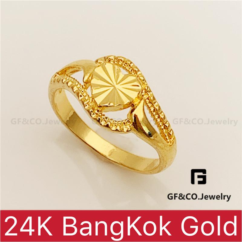 bcf14209a4e89 GF&Co. 24K Bangkok Gold Plated Fashionable Ring for Women R55