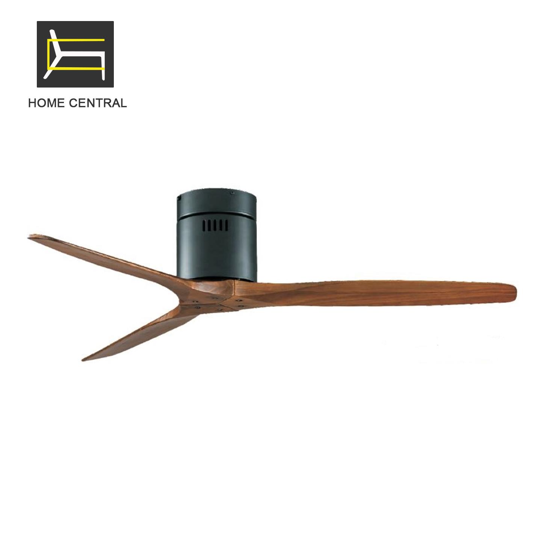 Solid Wood Ceiling Fan 3 Blades Lazada Ph