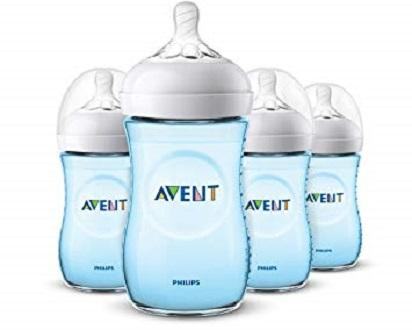 Philips Avent Natural 260ml Bottle 4 Pk 9oz By Everything Goes.