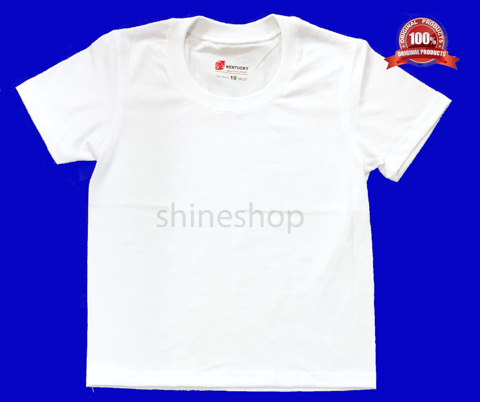 Kentucky White Shirt For Kids (set Of 2) By Shineshop999.