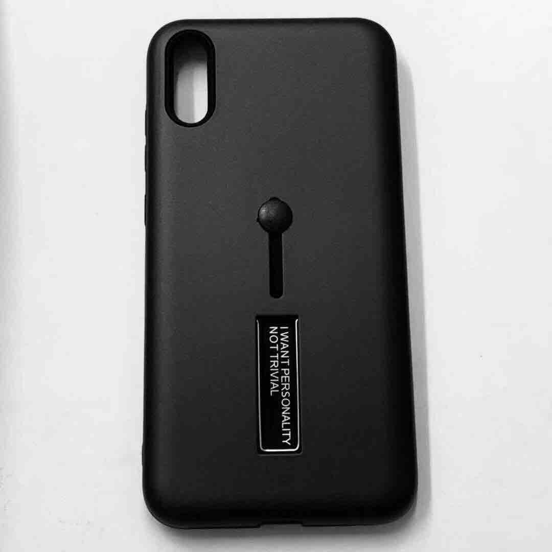 b35f352034c4 Huawei Y6 Pro 2019 Armor Back Case with Ring And Stand  Fashion Style