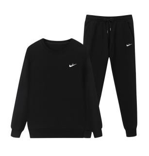 Nike Bữa Áo Nỉ Nam 2020 Kiểu Mùa Thu Đông Dáng Suông Rộng Mịn Hơn Dày Hơn Cổ Tròn Mùa Đông Thông Dụng Nam Vận Động Bộ Thủy Triều thumbnail
