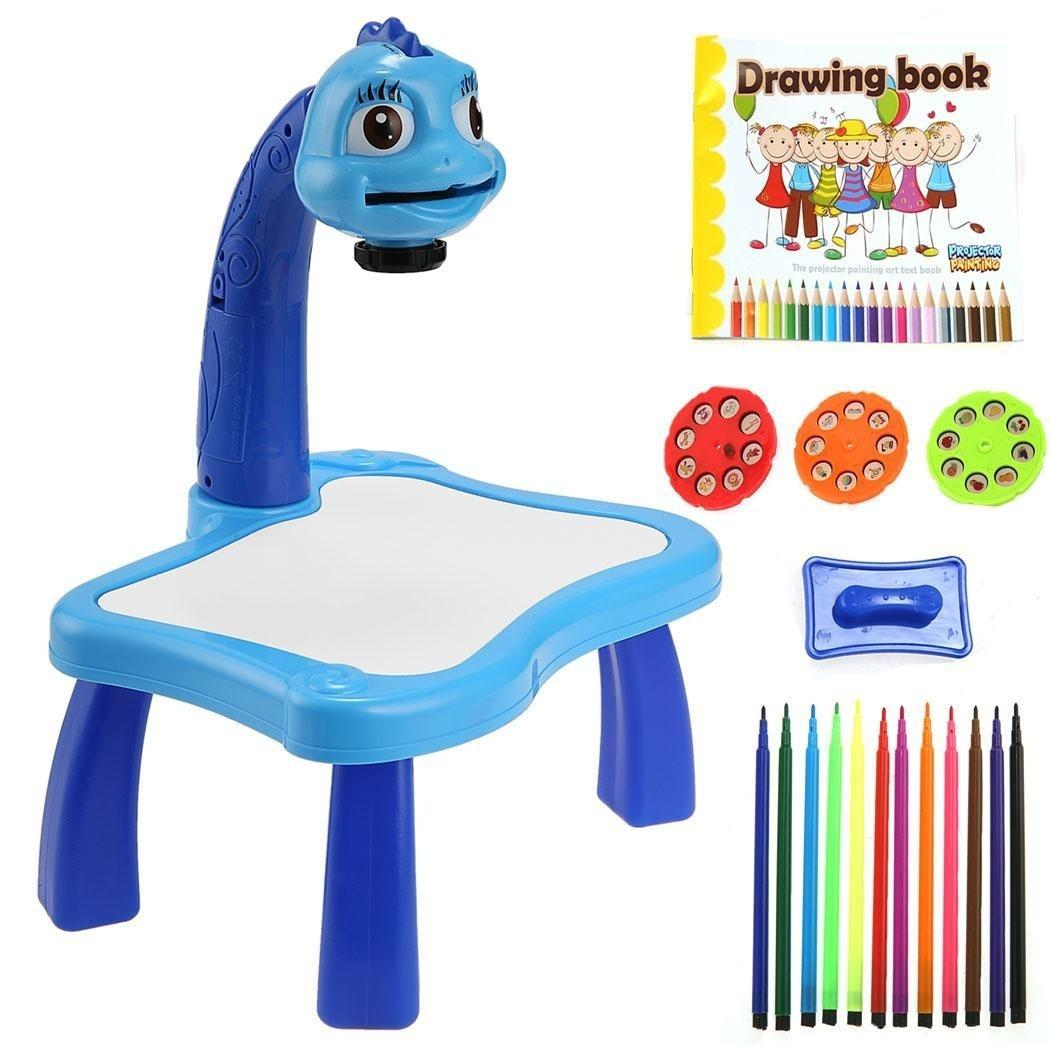 Kids Children Educational Early Learning Projector Painting Toy Set By Rising Star.