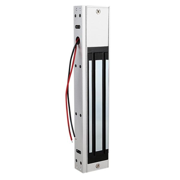 Electronic Door Lock Safurance Single Door 12V Electric Magnetic Electromagnetic Lock 280Kg(600 Lb) Magnetic Lock Access Control System