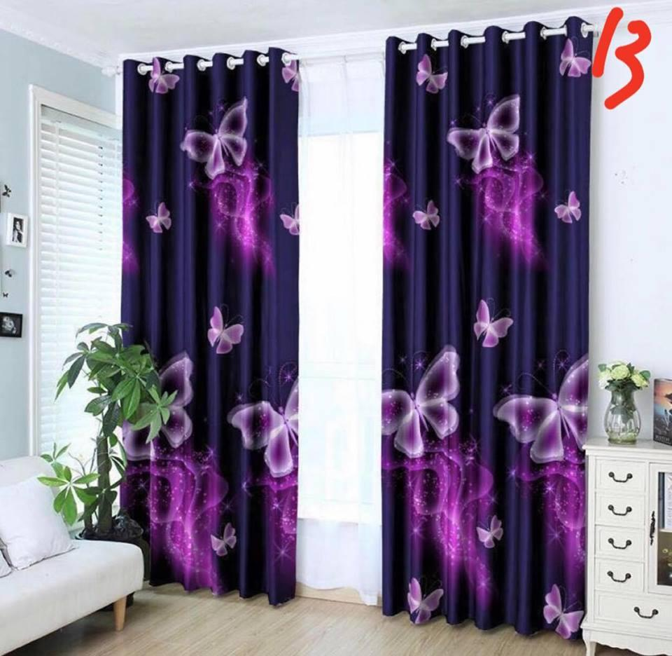 1pcs Curtain Us Cotton No Ring By Curtain Lisa.