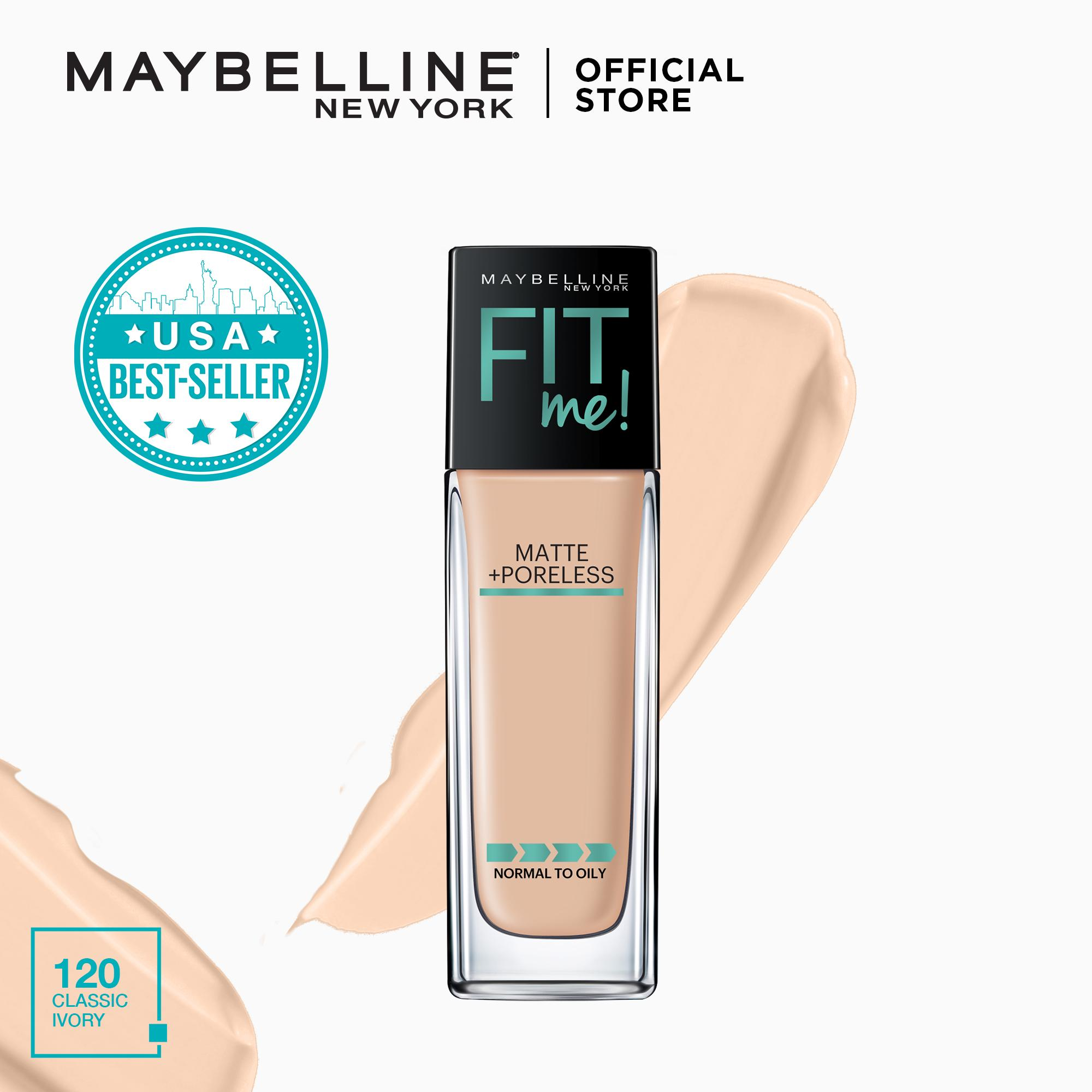 Maybelline Fit Me Matte + Poreless Liquid Foundation 30 mL Philippines