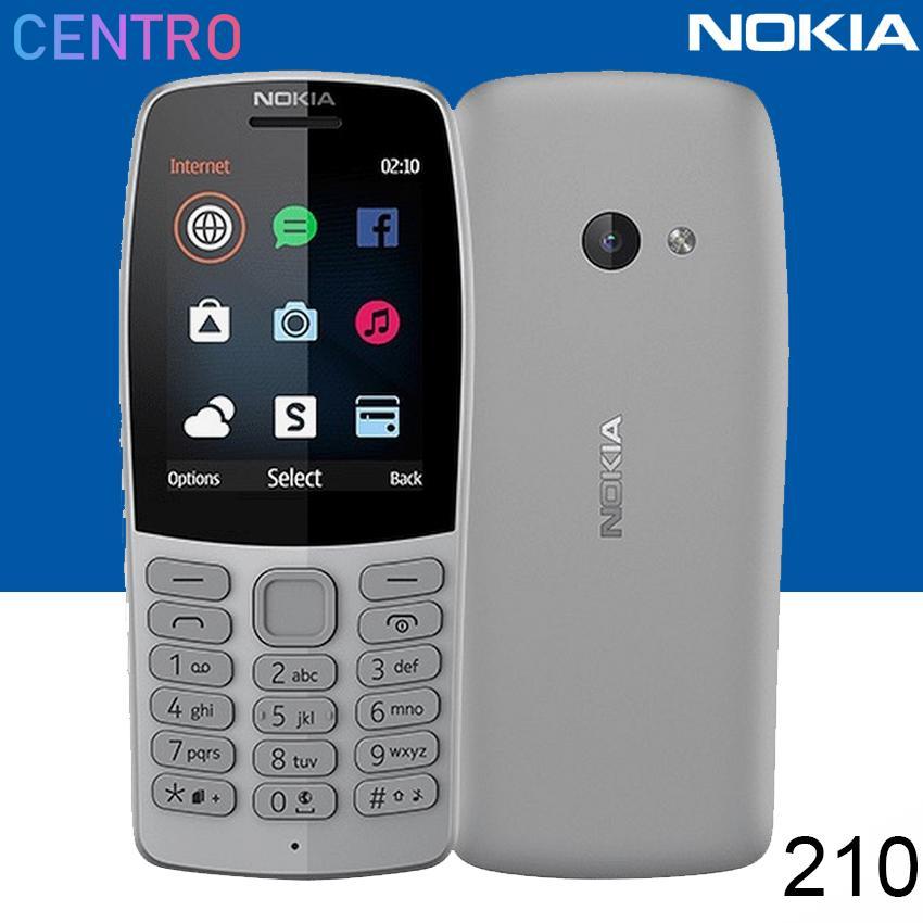 Nokia 210 Dual Sim Keypad Phone (Grey)